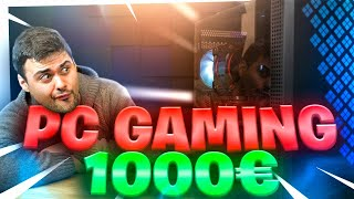 El PC GAMING DEFINITIVO por 1000€ | MONTAJE, BENCHMARKS Y RGB para parar un tren????????