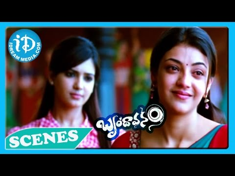 Brindavanam Movie - Kajal Agarwal, Samantha Emotional Scene