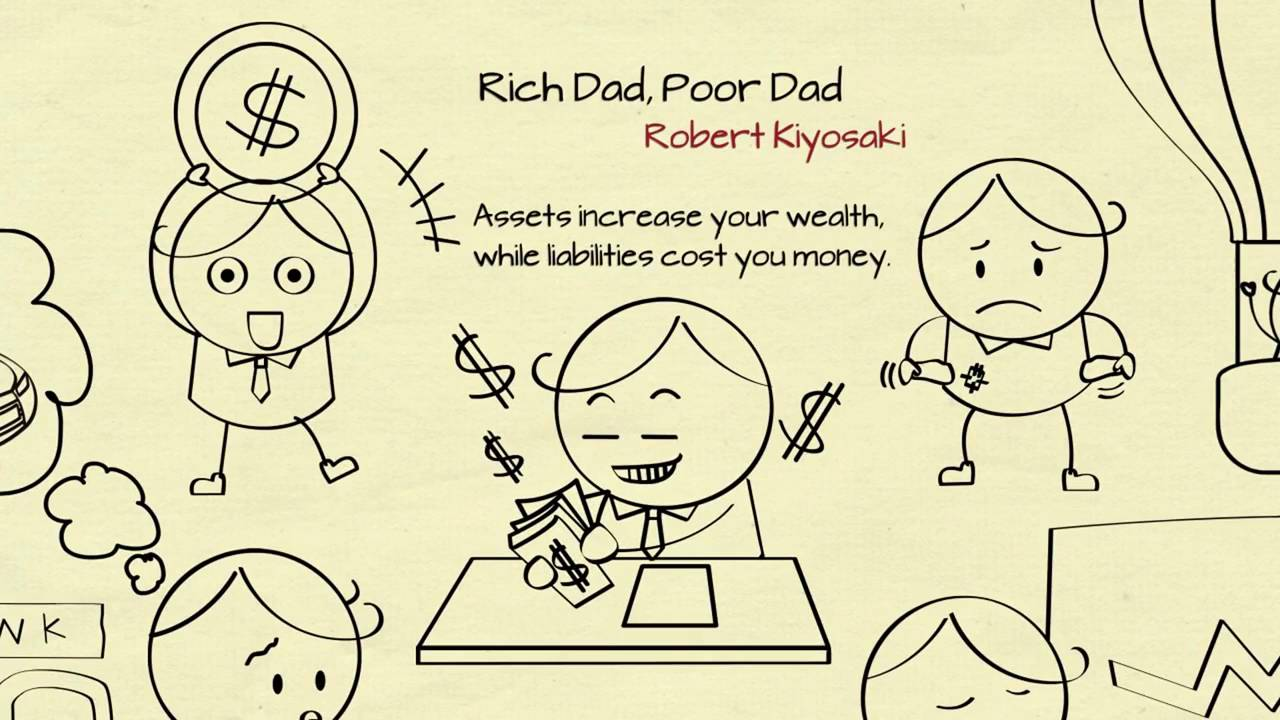Rich Dad Poor Dad by Robert Kiyosaki  Summary Guide  Brainy Books     YouTube