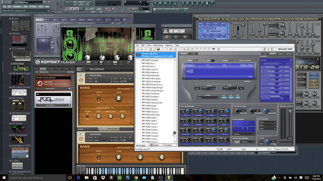 Free Top Quality VST Plugins For FL Studio