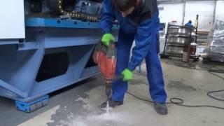 видео Крепление оборудования с помощью фундаментных болтов