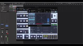 NI Massive - Doubling Effect ( How to widen any sound in MASSIVE )