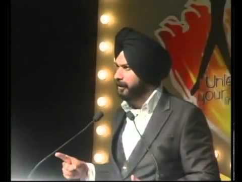 Very Inspiring Speech by Navjot Singh Sidhu
