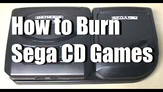 Tutorial: Burn Sega CD Games for Free (ISO/MP3)