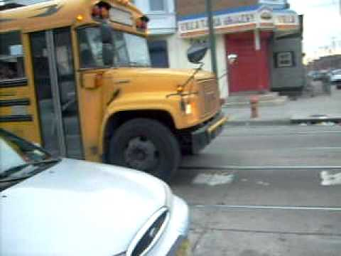 Atlantic Express School Bus