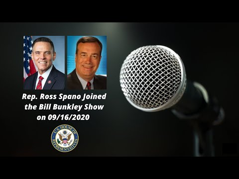 Rep. Ross Spano on the Bill Bunkley Show
