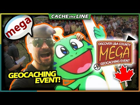 Rockin' The DLA2018 Mega Event On International Geocaching Day!