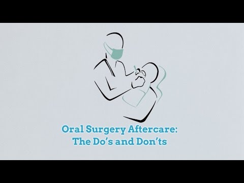 Oral Surgery Aftercare: The Do's and Don'ts