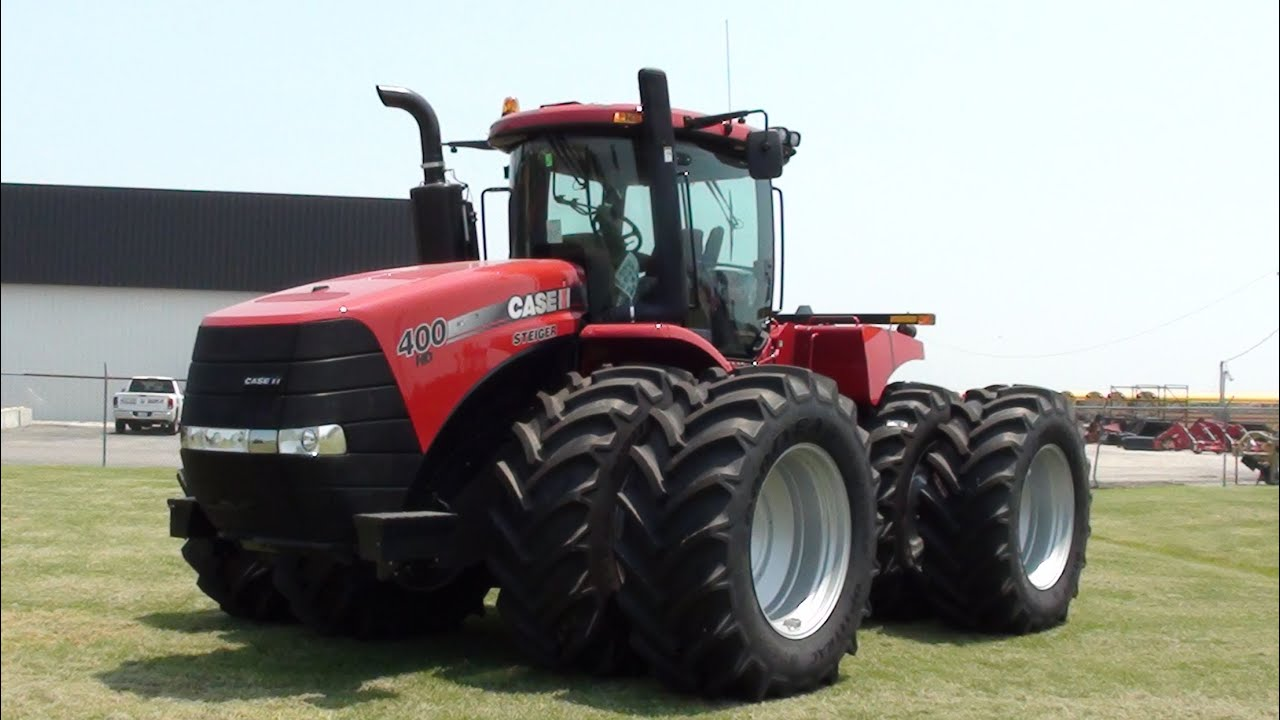 Case Tracked Tractors : Case ih steiger tractors tracks and four wheel drive