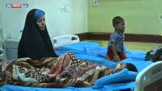 خطر الكوليرا يهدد أطفال العراق