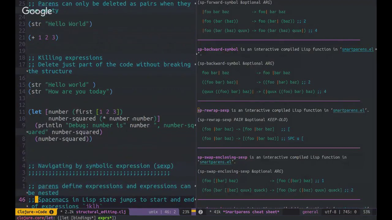 Update Spacemacs · Clojure development with Spacemacs & Cider
