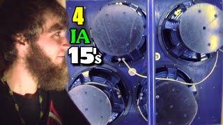 CUSTOM Subwoofers w/ Dylan's Incriminator Warden ZV4 Hybrids | Loud SBN Bass Sound System