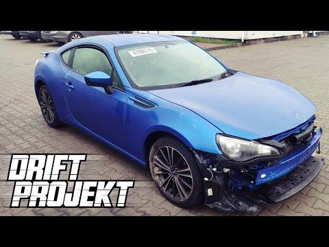 Drift Projekt - Subaru BRZ #1 - Zakup Auta - YouTube