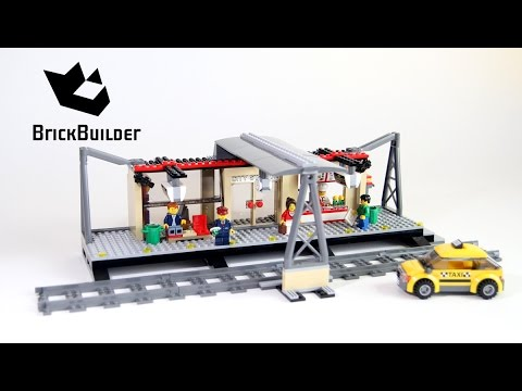 LEGO CITY 60050 Train Station Speed Build for Collecrors - Collection Trains (14/21)