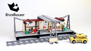 Kijk Lego City 60050 Trein Station filmpje