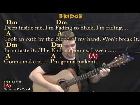 Natural (Imagine Dragons) Strum Guitar Cover Lesson In Dm With Chords/Lyrics
