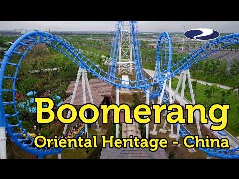 Boomerang Stress Express at Oriental Heritage, Ningbo, China