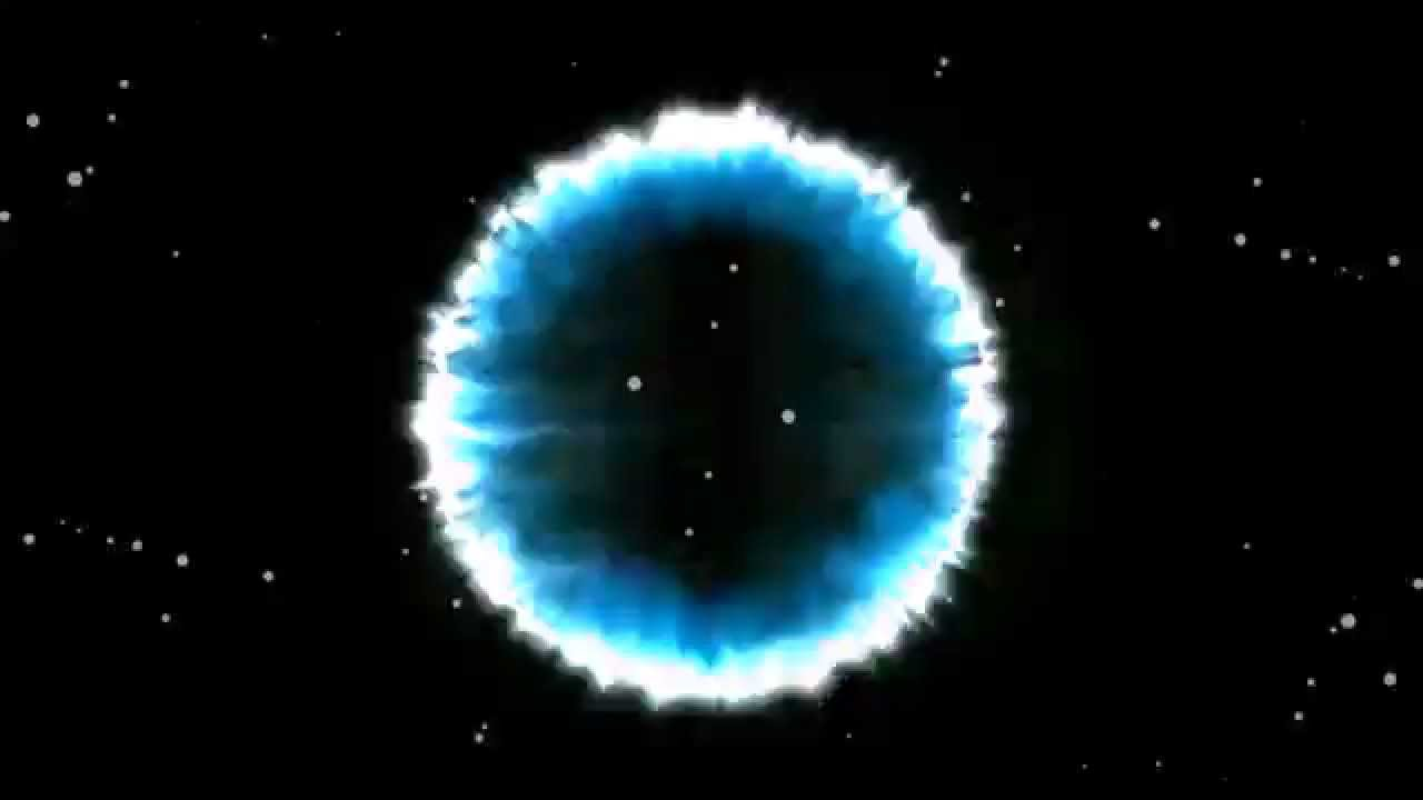 blue particle circle explostion free overlay stock footage youtube