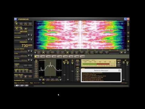 CHMJ Traffic Radio AM 730 Vancouver, via remote Perseus