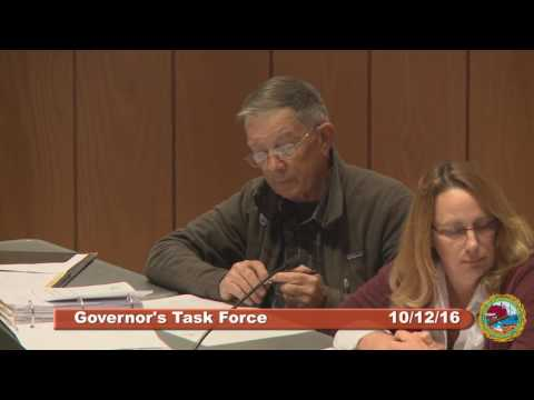 Governor's Task Force 10.12.16