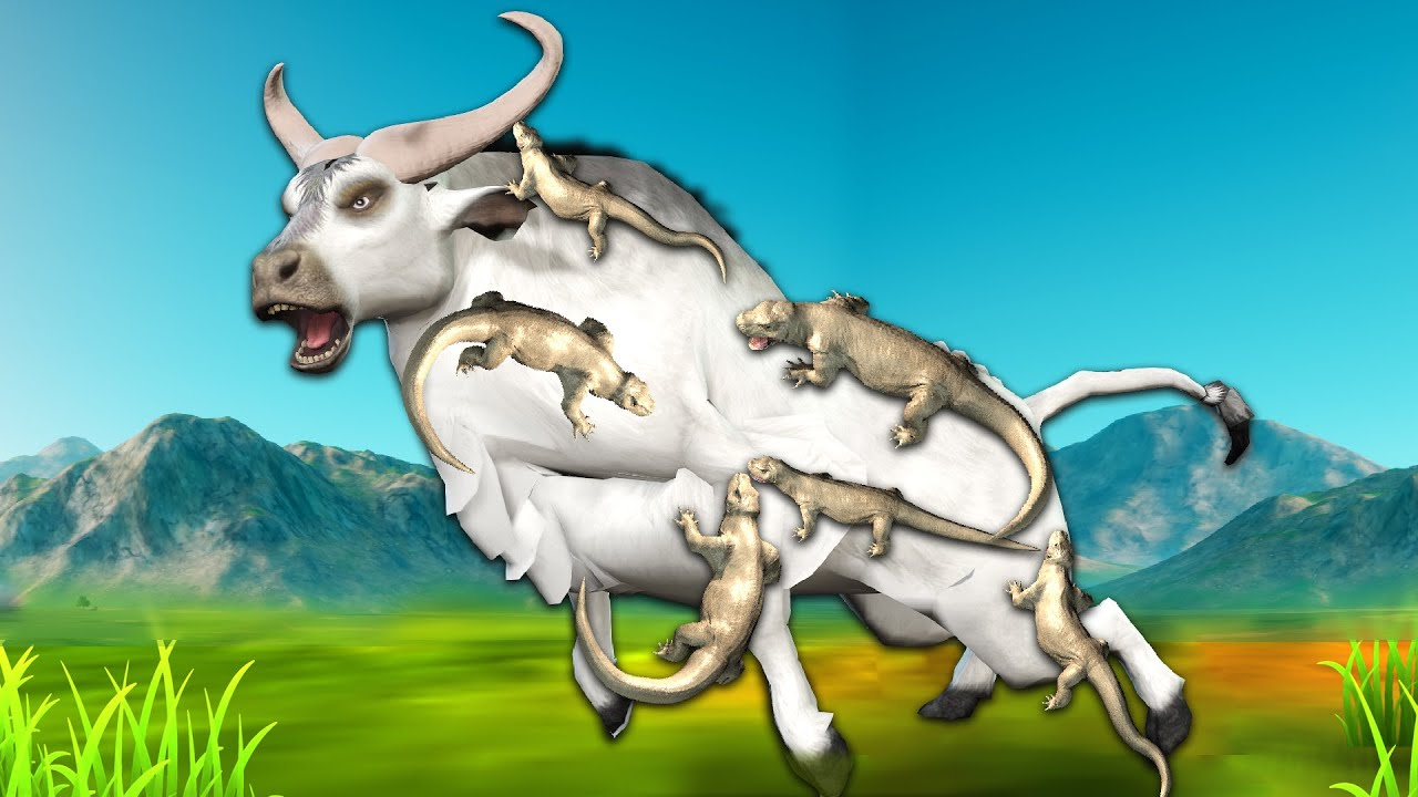 Download सफेद भैंस और छिपकली White Buffalo and Lizard Hindi Kahaniya Panchatantra Moral Stories Fairy Tales