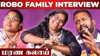 """How I React When My Mom & Dad Fight"" – Robo Shankar Daughter Indraja & Wife Priyanka Interview"