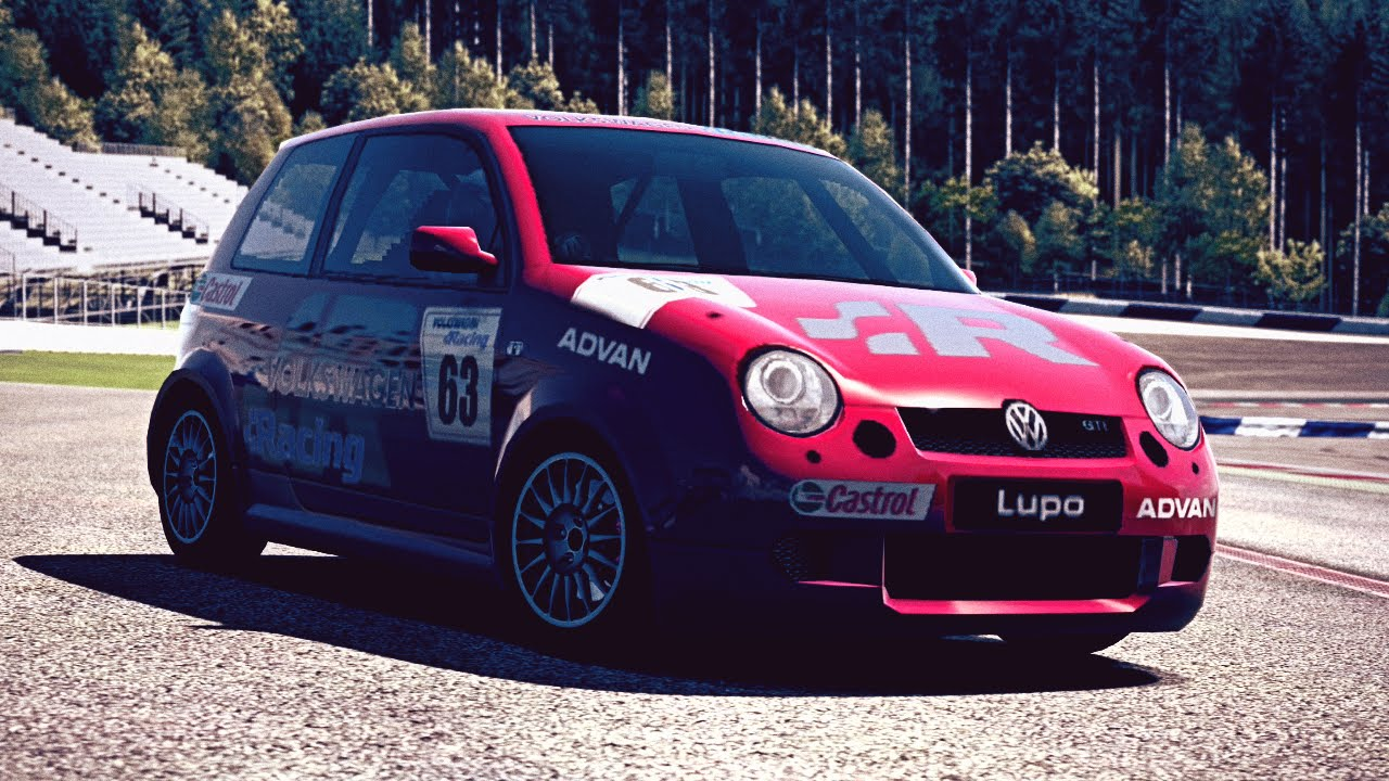 gt6 volkswagen lupo gti cup car j 03 exhaust comparison youtube