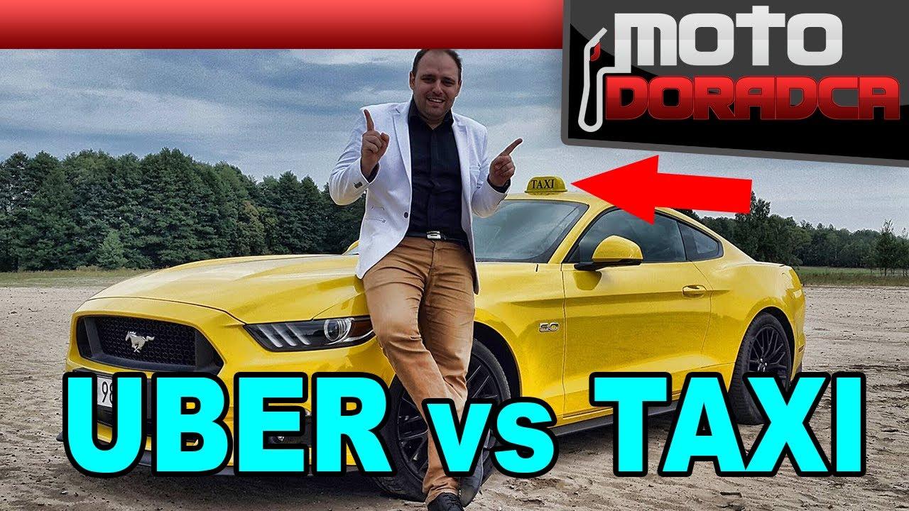 UBER vs TAXI #MOTODORADCA