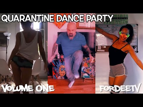 Quarantine Dance Party - International Friends Dancing From Home (House Music Mix)