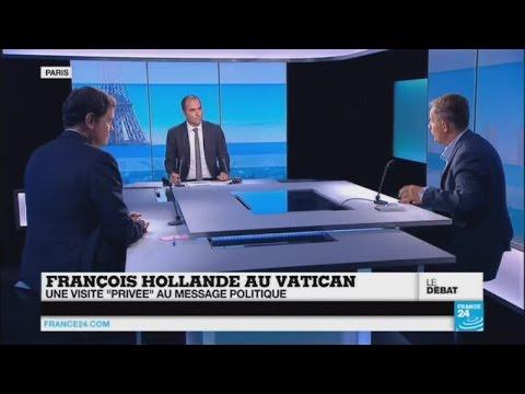 """François Hollande au Vatican, une visite """"privée"""" à portée politique"""