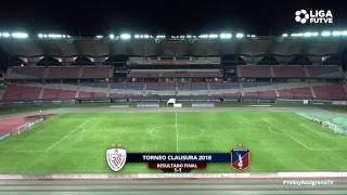 Torneo Clausura 2018   Estudiantes de Mérida vs. Monagas SC   Jornada 10