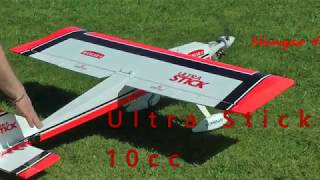 My new Ultra Stick 10cc. The engine is not run in yet so it is stil...