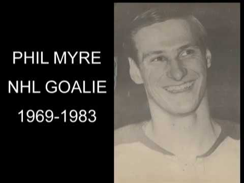 Phil Myre NHL Goalie 1969-1983