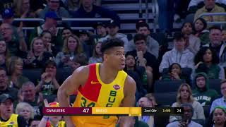 Cleveland Cavaliers vs Milwaukee Bucks | March 24, 2019