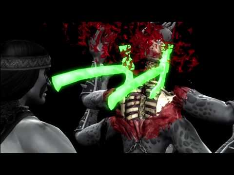 All Mortal Kombat 9 X-Ray Moves [MK9 2011] [DLC] [HD]