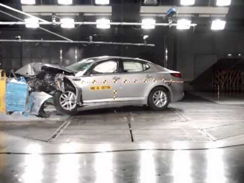 2011 kia optima crash test youtube. Black Bedroom Furniture Sets. Home Design Ideas