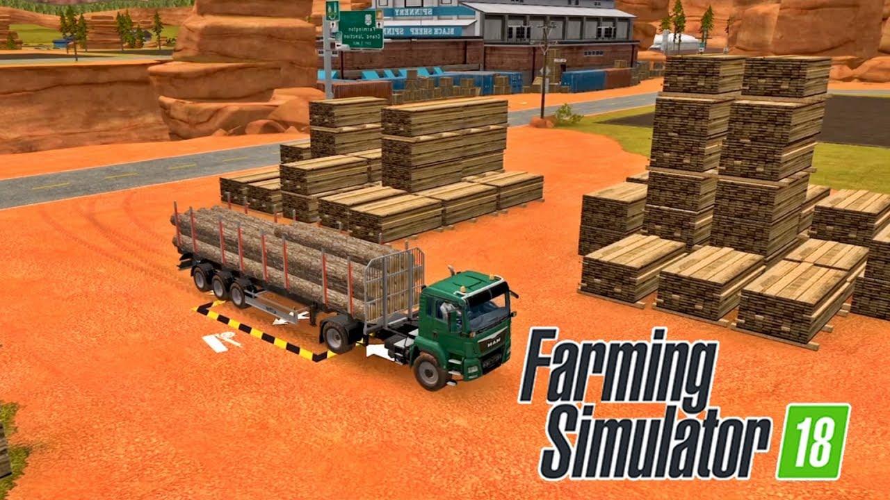 Скачать карту на игру ферма симулятор 2018