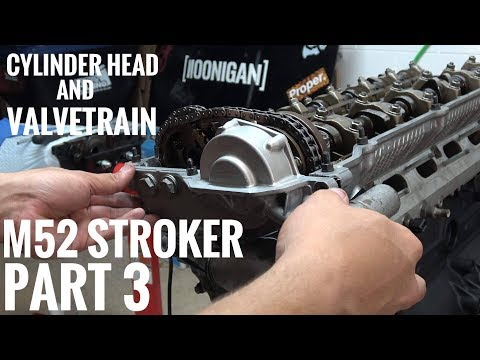 M52 STROKER BUILD PART 3  FINAL STEPS BEFORE IT GOES BACK IN THE CAR!