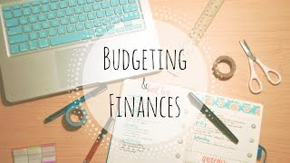 Plan With Me: Budgeting & Finances