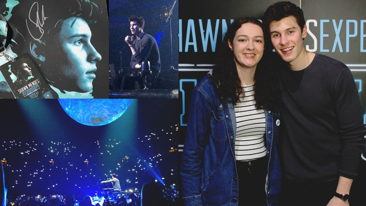 Meeting Shawn Mendes Illuminate Tour 2017 Vip Experience Youtube