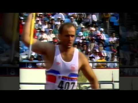Roald Bradstock 1988 Olympics First Round Throw