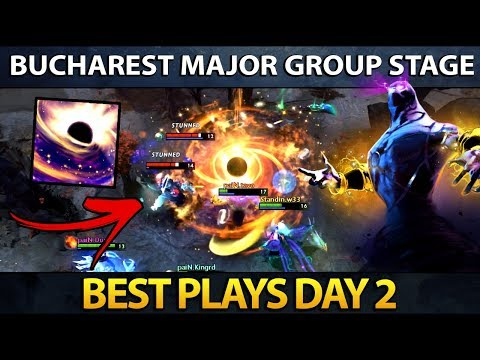 Dota 2 The Bucharest Major - Best Plays - Day 2 thumbnail