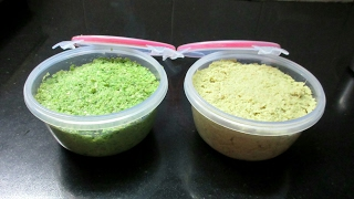 How to store Green chilly paste and Ginger paste - Homemade Green chilly paste and Ginger paste