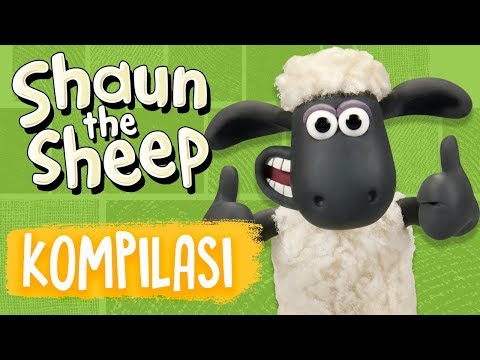 Shaun The Sheep | Full Episodes Compilation 13-16 | Season 5 | Funny Cartoons For Kids
