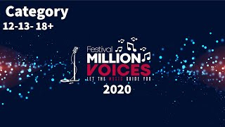 17/2/2020-Age category 14-15, 17+ - Music competition festival Million Voices - 5