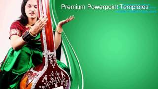 Indian Classical Singer Music PowerPoint Templates Themes And Backgrounds ppt layouts