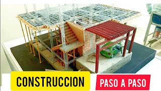 Super TuToria! Maqueta con materiales reales !!! Construccion en miniatura