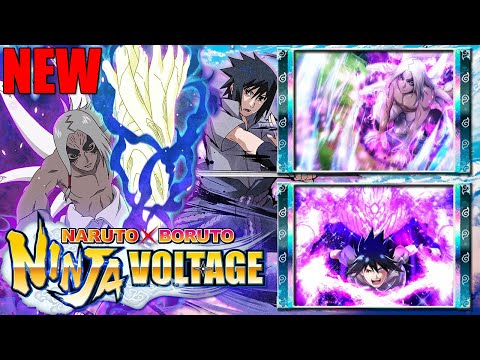 НОВЫЙ ГЕРОЙ 🔥 Kimimaro (Reanimation) and Sasuke v5 Summons ► Naruto x Boruto Ninja Voltage