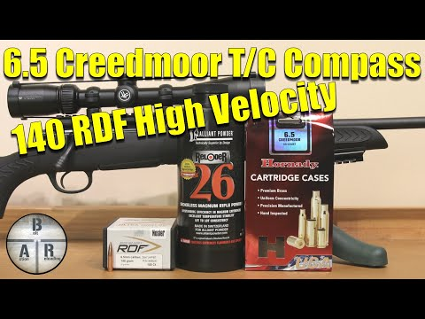 Nosler 140 RDF with Allaint Reloder 26 - Thompson Center