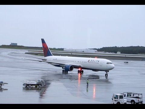 DELTA AIRLINES Boeing 767-300 / Takeoff Anchorage / Land in Atlanta